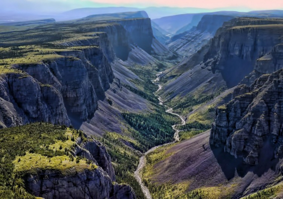 Park, Reserve, Canyon, Canada