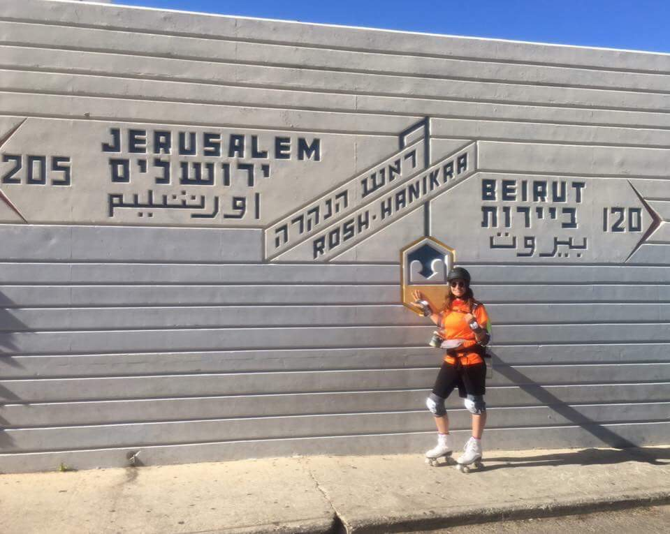 Roller Skating Solo Across Israel
